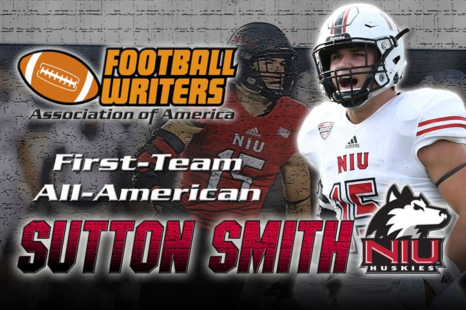 online store a9963 f5bcf Sutton Smith Adds FWAA, AP All-America Honors - NIU Athletics